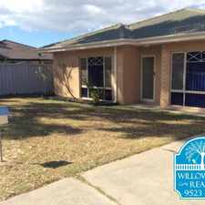 Rental info for CLOSE TO ALL AMENITIES in the Perth area