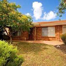 Rental info for LOVELY FAMILY HOME CLOSE TO POPULAR CANDLEWOOD AREA in the Joondalup area