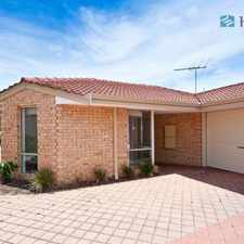 Rental info for Location!! Location!! in the Perth area
