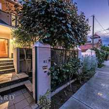 Rental info for Overlooking Hyde Park! in the Perth area