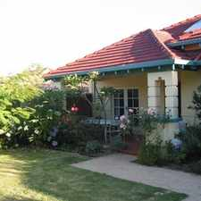 Rental info for CLASSIC FLOREAT BUNGALOW