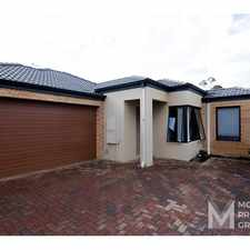 Rental info for CONTEMPORARY HOME IN THE HEART OF GOSNELLS in the Gosnells area
