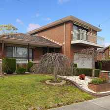 Rental info for Beautifully maintained family home - garden maintenance included in the Melbourne area