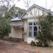 Rental info for MAGNIFICANT PERIOD STYLE FAMILY HOME in the Balwyn area