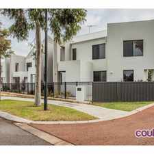Rental info for 3 x 2 Townhouse in The Heart of Wellard