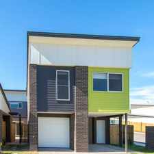 Rental info for NEAR NEW 2 BEDROOM UNIT in the Brisbane area