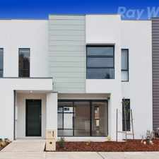 Rental info for MODERN TOWNHOUSE IN PRIME LOCATION in the Melbourne area