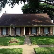 Rental info for 10419 Huntington Way Drive in the Houston area