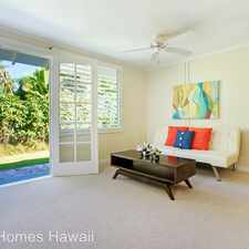 Rental info for 1342 Aalapapa Drive A in the Kailua area