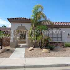 Rental info for 14375 W. Monte Vista Rd. - Upgraded 4 Bed 2 Bath W/ Private Pool Overlooking Palm Valley Golf Course In Goodyear! - Litchfield Park Rd. & Palm Valley Blvd. - CALL TODAY!