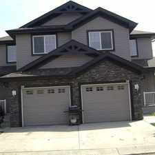 Rental info for *1/2 MONTH FREE!!! Former showhome - 3bed/2.5baths - 1272 sq.ft. duplex in the Terwillegar Towne area