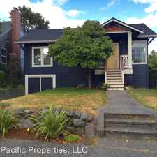 Rental info for 8028 25th Ave NW in the Loyal Heights area