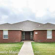 Rental info for 5401 Harvard St. in the Lubbock area