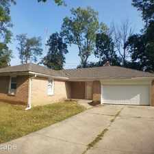 Rental info for 8628 Skyway Drive in the Indianapolis area