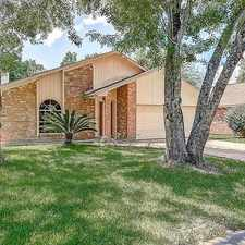 Rental info for 9507 Charter Ridge Drive in the Houston area