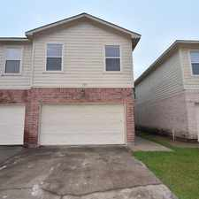 Rental info for 10051 Sharpton Drive in the Houston area