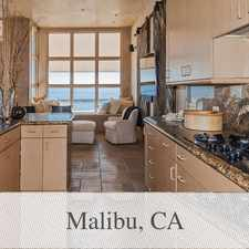 Rental info for Lovely Malibu, 3 Bed, 4 Bath