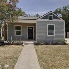 Rental info for 912 East 38th Street in the Austin area
