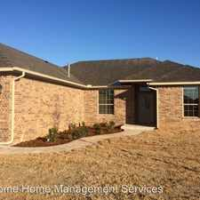 Rental info for 8017 NW 160th Street in the Oklahoma City area