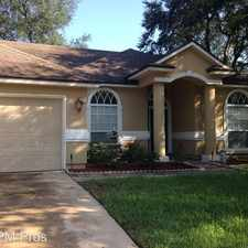 Rental info for 1854 Oakchime Dr in the Oakleaf Plantation area