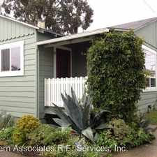 Rental info for 2-1601 East Cliff Drive