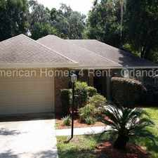Rental info for 689 Jefferis Court in the Eustis area