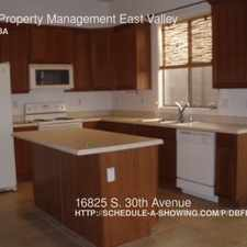 Rental info for 16825 S. 30th Avenue
