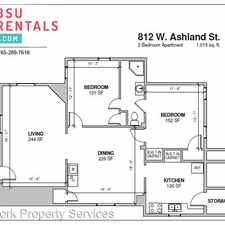 Rental info for 812 Ashland in the 47305 area