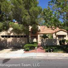 Rental info for 2708 Lakecrest Dr in the Desert Shores area