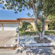 Rental info for 17361 laurie Lane in the North Tustin area
