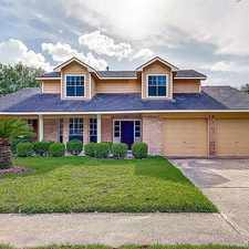 Rental info for 12210 Chessington Drive in the Houston area