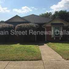 Rental info for 2941 Lawndale Drive in the 75134 area