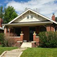 Rental info for 364 South Franklin Street in the Washington Park area