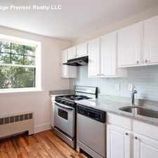 Rental info for Prospect St in the Mid-Cambridge area