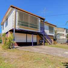Rental info for LOCATION PLUS, 3 BED, 1 BATH, 2 CAR, PLUS HEAPS STORAGE in the Brisbane area
