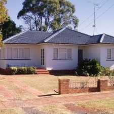Rental info for Close to CBD, lowset 3 bedroom home... in the Toowoomba area