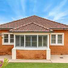 Rental info for Classic Beauty With Ocean Views in the Wollongong area