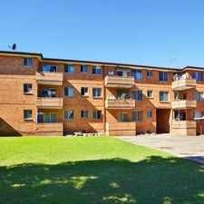Rental info for PARTIALLY FURNISHED 2 BEDROOM UNIT IN WIGRAM STREET