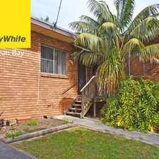 Rental info for Low Maintenance Living, Close to Beach in the Forresters Beach area