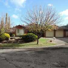 Rental info for Great Family Home in Sought After Area! in the Adelaide area