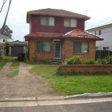 Rental info for Double Storey Home - Affordable Rent in the Sydney area