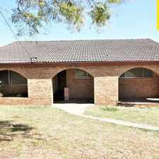 Rental info for 3 bedroom home in central Camden in the Sydney area
