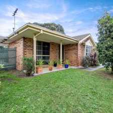 Rental info for BEAUTIFULLY PRESENTED UNIT! in the Melbourne area