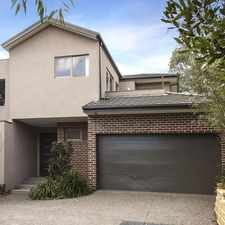 Rental info for Opposite Templestowe Village!