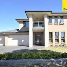Rental info for Amazing 4 bedroom home with 3 car garage in the Sydney area