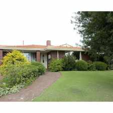 Rental info for WELL-PRESENTED HOME WITH WORKSHOP in the Willetton area