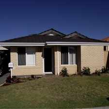 Rental info for Modern, low maintenance property in the Perth area