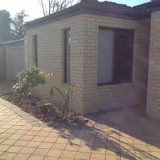 Rental info for SETTLE IN FOR SUMMER IN THIS COSY VILLA RIGHT NEAR in the Perth area