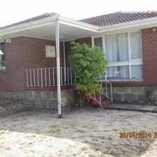 Rental info for Family Home close to Schools in the Girrawheen area