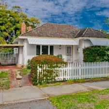 Rental info for Classic retro style cottage in the Perth area